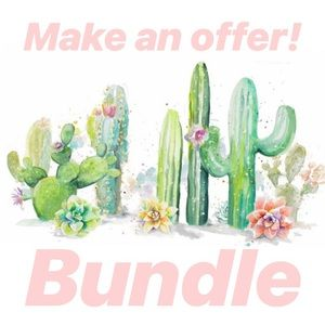Bundle and save or make an offer!